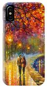 Spirits By The Lake - Palette Knife Oil Painting On Canvas By Leonid Afremov IPhone Case