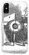 Spiritualism, 1855 IPhone Case