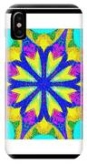 Spirituality - Life Lights - Kaleidoscope - Triptych IPhone Case