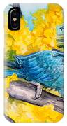 Spix's Macaw - A Dream Of Home IPhone Case