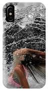 Hair Flip Splash IPhone Case