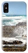 Splashes At Sea IPhone Case