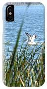 Splashing In The Lake IPhone Case