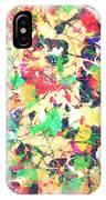 Splashing Paints IPhone Case