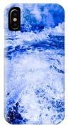 Splashing Water In Rapid River IPhone Case