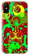 Splattered Series 10 IPhone Case