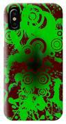 Splattered Series 12 IPhone Case