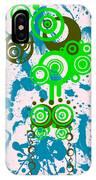 Splattered Series 4 IPhone Case