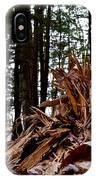 Splintered Hemlock IPhone Case