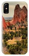 Splinters Of Light On The Spires IPhone Case