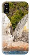 Split Apple Rock Near Abel Tasman Np In New Zealand IPhone Case