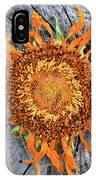 Split Sunflower IPhone Case
