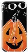Spooky Jack O Lantern II IPhone Case