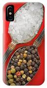 Spoonfuls Of Salt And Pepper IPhone Case