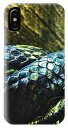 Spotted Coiled Snake IPhone Case