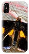 Spotted Grecian Shoemaker Butterfly IPhone Case