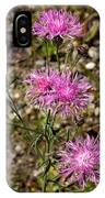 Spotted Knapweed IPhone Case