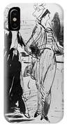 Sprinchorn Women, 1914 IPhone Case