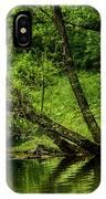 Spring Along West Fork River IPhone Case
