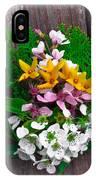 Spring Arrangement IPhone Case