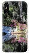 Spring At Magnolia Plantation 5 IPhone Case