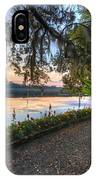 Spring At Magnolia Plantation 6 IPhone Case