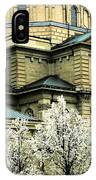 Spring At The Basilica IPhone Case