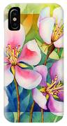Spring Ballerinas IPhone Case