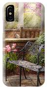 Spring - Bench - A Place To Retire  IPhone Case