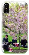 Spring Blossom In Kew Gardens London IPhone Case