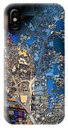 Spring Blossoms In The City - New York IPhone Case