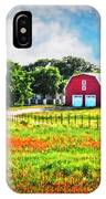 Spring Charm In The Hill Country IPhone Case