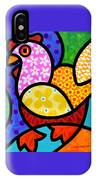 Spring Chicken IPhone Case by Steven Scott