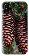 Spring Christmas Tree IPhone Case