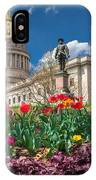 Spring Comes To Wv Capitol IPhone Case