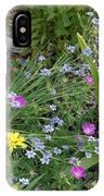 Spring Cottage Garden IPhone Case