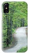 Spring Country Road IPhone Case