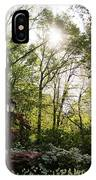 Spring Day In The Park IPhone Case