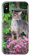 Spring Deer IPhone X Case