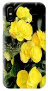 Spring Delight In Yellow IPhone Case