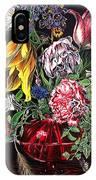 Spring Flower Bouquet IPhone Case