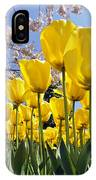 Spring Flowers 10 IPhone Case