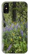 Spring Flowers In The Columbia Gorge IPhone Case