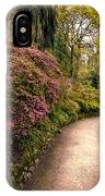Spring Footpath IPhone Case