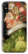 Spring, From A Series Depicting The Four Seasons IPhone X Case