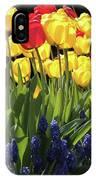 Spring Garden Sunshine Square IPhone X Case