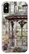 Spring Gazebo Painteffect IPhone Case