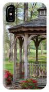 Spring Gazebo Pastel Effect IPhone Case