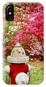 Spring Hydrant IPhone Case
