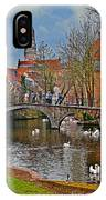 Spring In Bruges IPhone Case